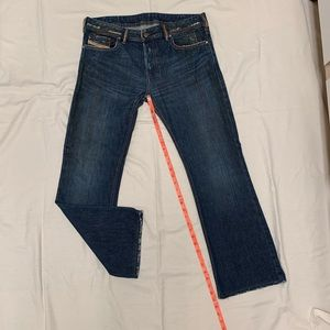 3351e4ab Diesel Jeans - Men's Diesel Jeans Straight Leg Boot Cut